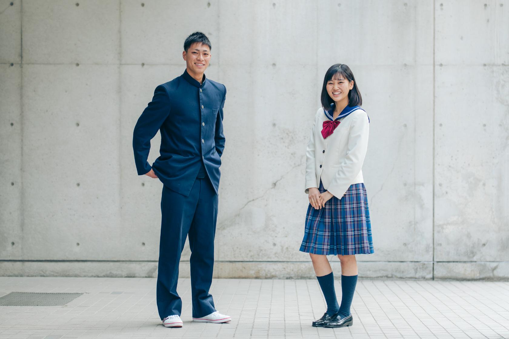 当校の制服
